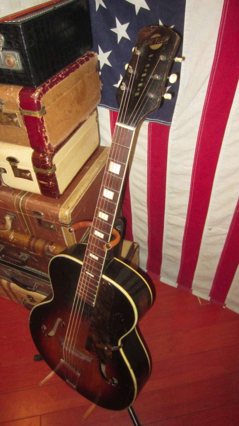 1940's Gretsch Archtop War time .By Harmony T2ec1647