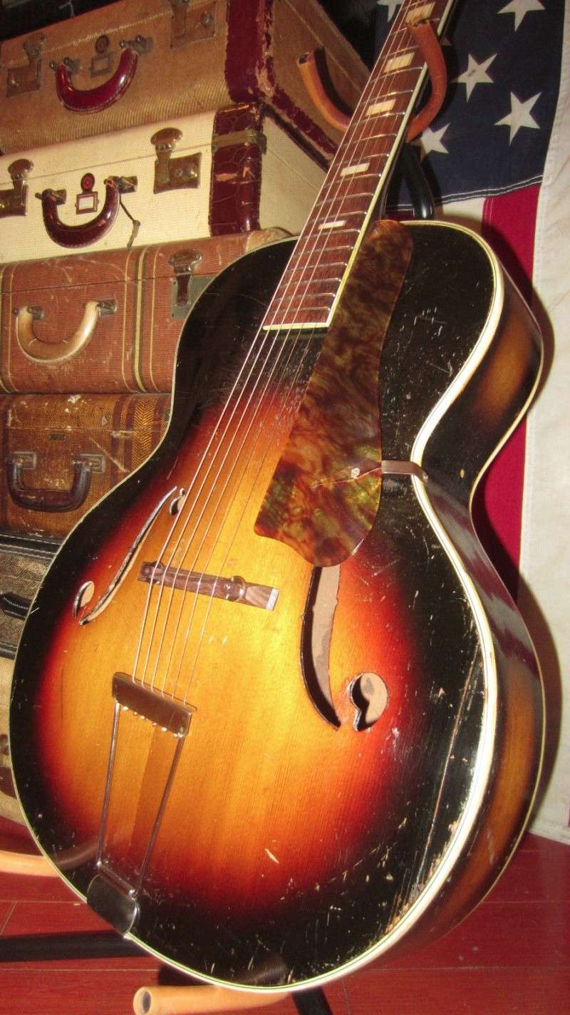 1940's Gretsch Archtop War time .By Harmony T2ec1649