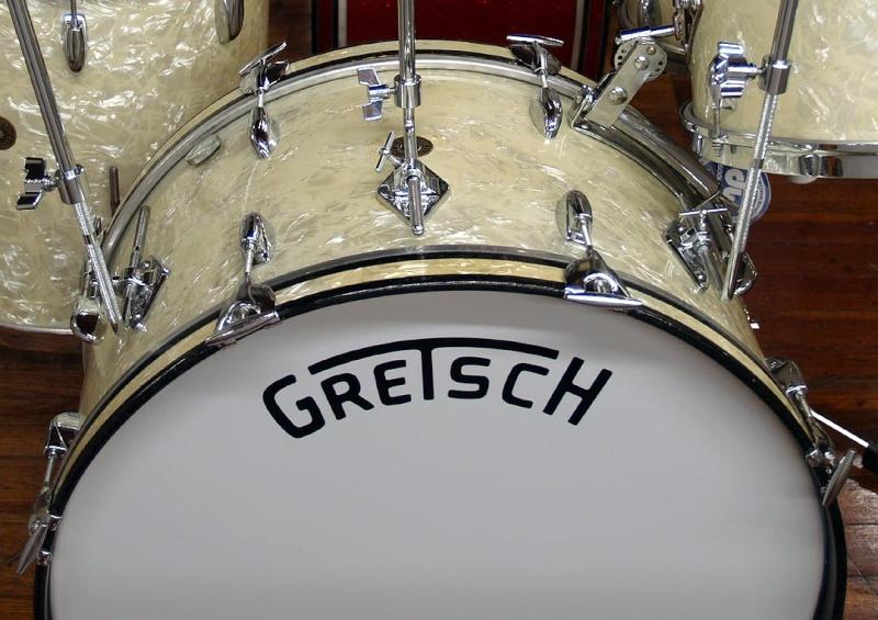 LOGO Gretsch Drum....... Zs211