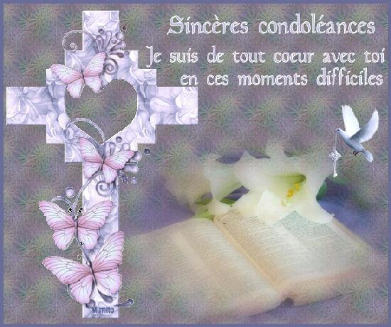 Mes Condoléances les plus sincères, Chère Rita 40cd5a10