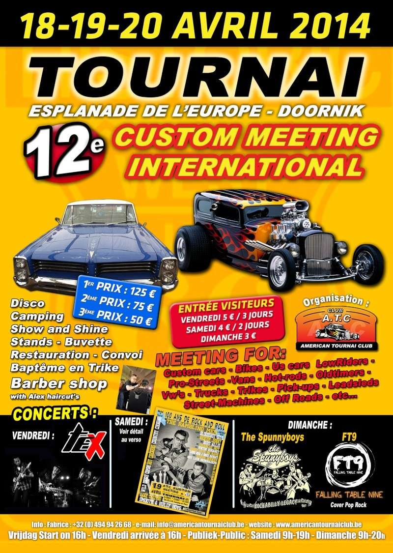 12 éme Custom meeting international à Tournai (B) Af201410