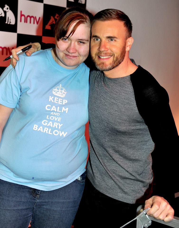 Gary au HMV de Manchester 28/11/2013 14255210