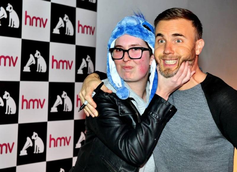 Gary au HMV de Manchester 28/11/2013 14610510