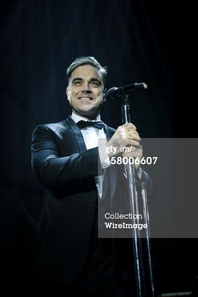 Robbie et Lily Allen concert de charité 19/12/2013 45800611