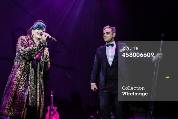 Robbie et Lily Allen concert de charité 19/12/2013 45800612