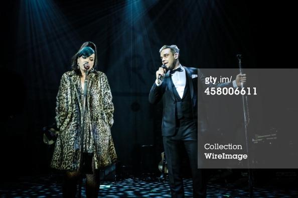 Robbie et Lily Allen concert de charité 19/12/2013 45800613