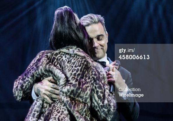 Robbie et Lily Allen concert de charité 19/12/2013 45800614