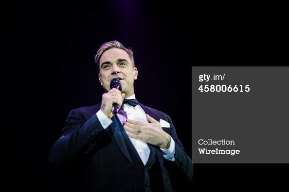 Robbie et Lily Allen concert de charité 19/12/2013 45800615