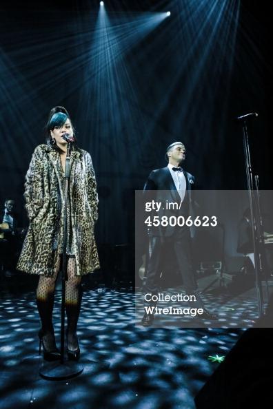 Robbie et Lily Allen concert de charité 19/12/2013 45800616