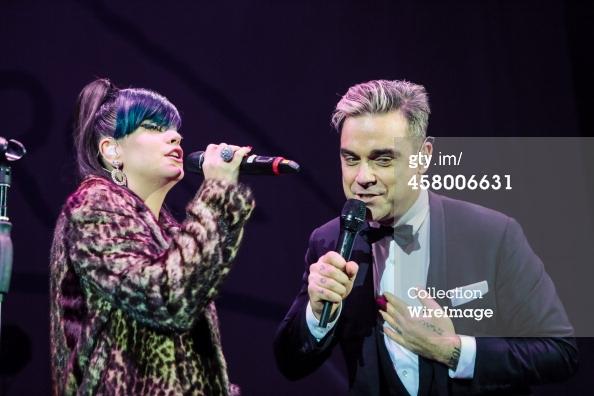 Robbie et Lily Allen concert de charité 19/12/2013 45800618