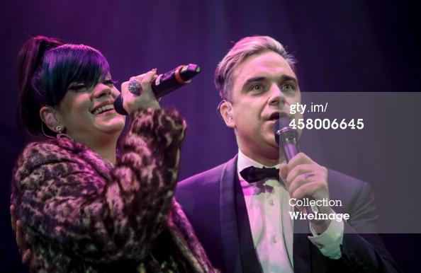 Robbie et Lily Allen concert de charité 19/12/2013 45800620