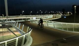 Rond-point pour vélos Hovenr10