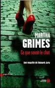 [Grimes, Martha] Ce que savait le chat Index210