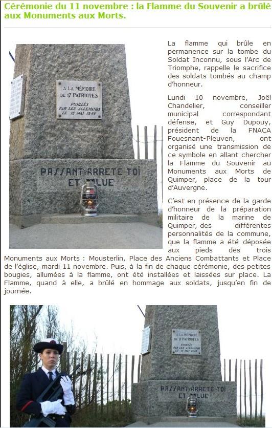 [Histoire et histoires] 90 ème anniversaire de la flamme de l'arc de triomphe 213