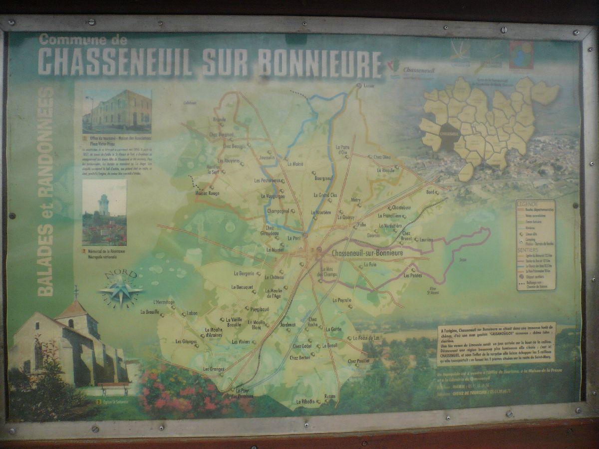 Sortie classe de 1ère S Lycée de Fouesnant à Chasseneuil sur Bonnieure (16) et Village martyr Oradour/Glane (87) 221