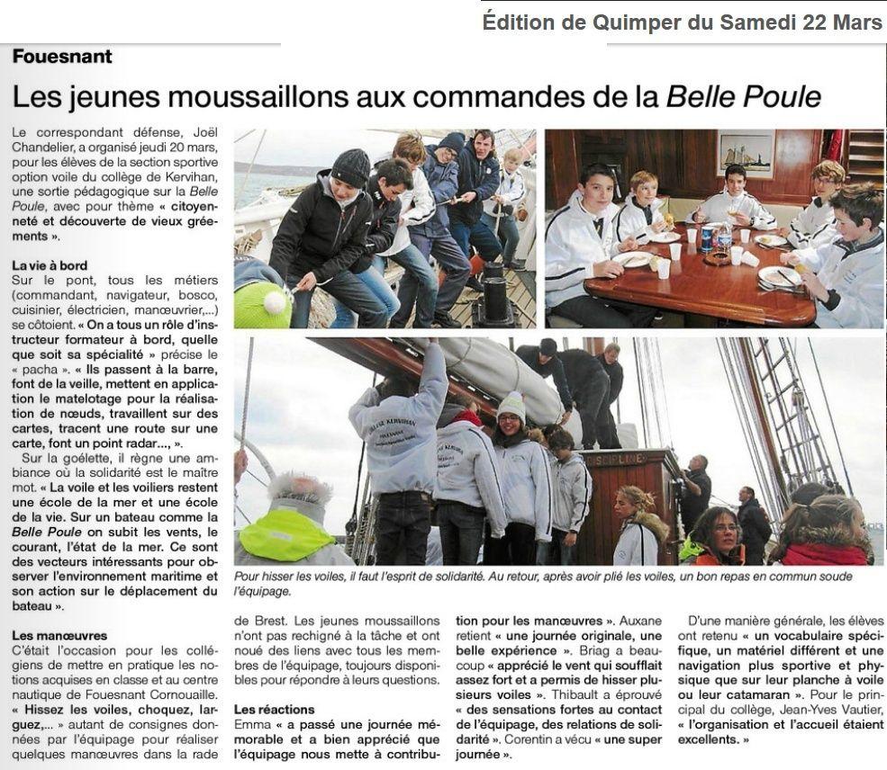 L'ÉTOILE ET LA BELLE-POULE (BE) - Page 15 Articl10