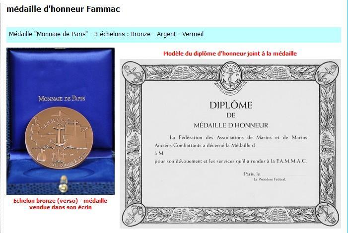 [ Logos - Tapes - Insignes ] Médaille de la FAMMAC Honneu10