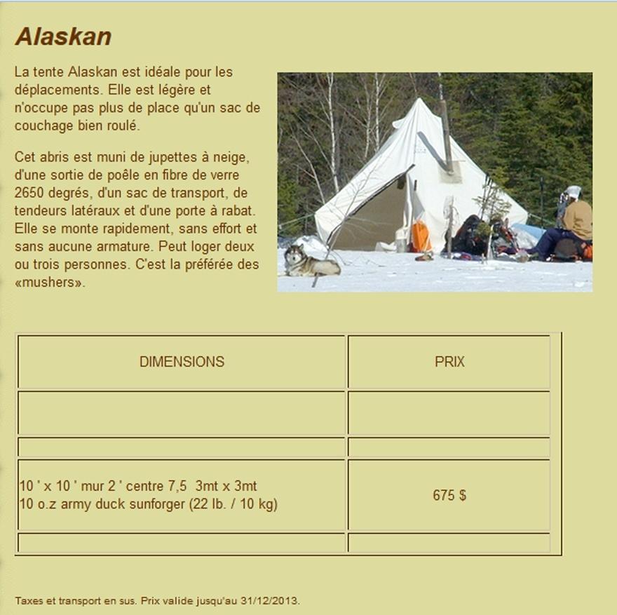 matériel pour bivouac hivernal - Page 2 Tente10