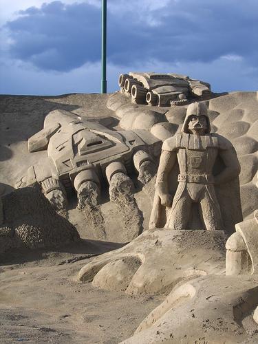 Sand sculptures 13065710