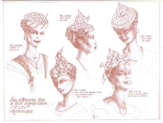 chapeaux et capelines, Bonnets, couvre chef - Page 2 Coiffe11