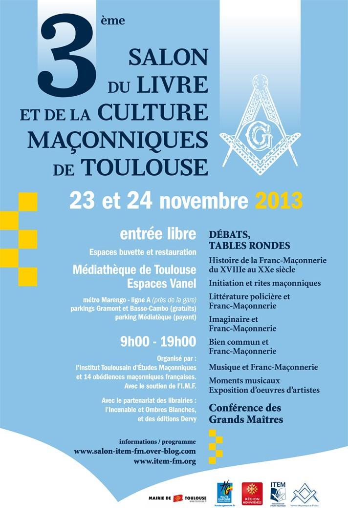 Le 3° Salon du Livre et de la Culture Maçonnique de Toulouse 3_salo10