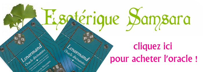 LENORMAND ORACLE DIVINATOIRE Lenorm15