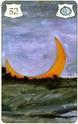 La carte de la Lune du Lenormand Brida Lenorm13