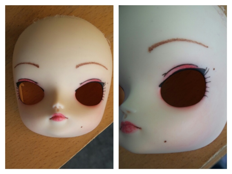 Mes premiers make up dal, pullip, taeyang Picsar58