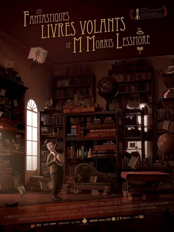 LES FANTASTIQUES LIVRES VOLANTS DE MR. MORRIS LESSMORE Affich12