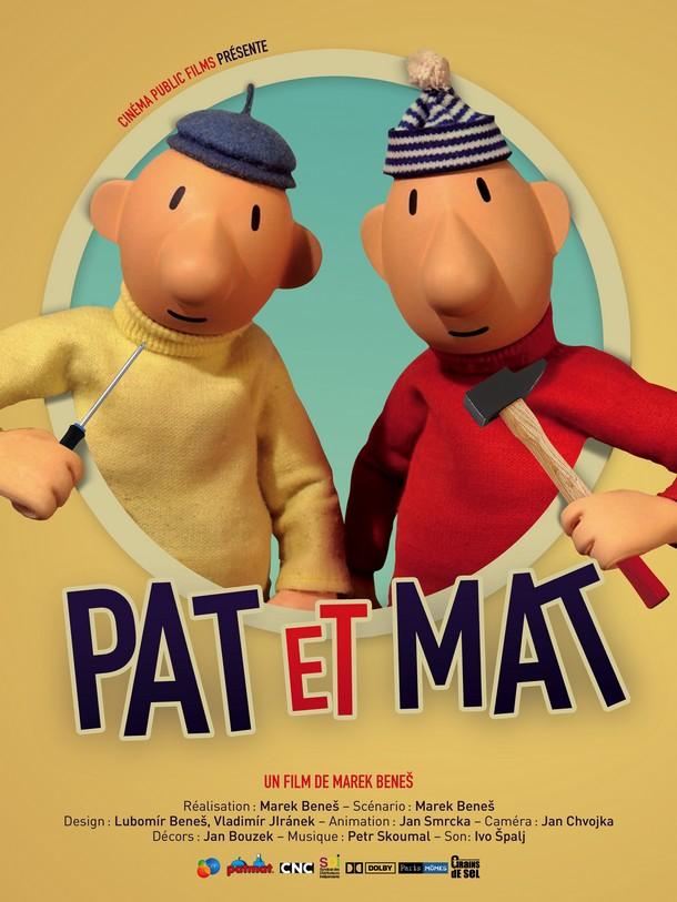 PAT ET MAT - Cinema Public Films - 15 octobre 2014 Affich13