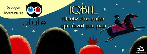 IQBAL, UN ENFANT CONTRE L'ESCLAVAGE - 2D3d animation Couvei10