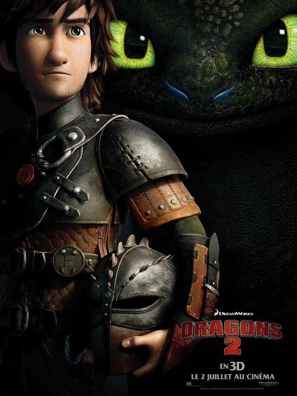 HOW TO TRAIN YOUR DRAGON 2 - Dreamworks - Juin 2014 -  Dragon11