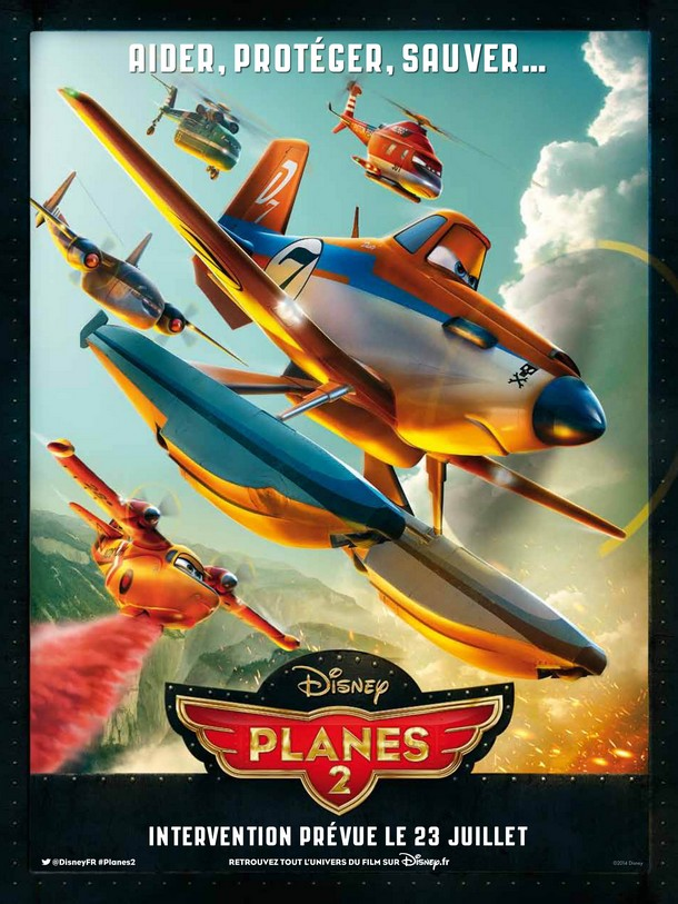 PLANES 2 FIRE AND RESCUE - Disneytoons - FR 23 Juillet 2014 Planes10