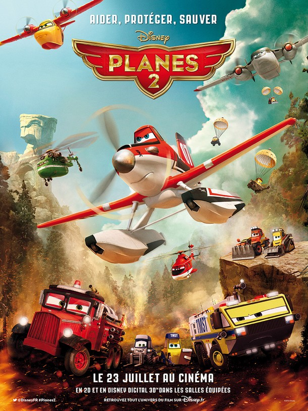PLANES 2 FIRE AND RESCUE - Disneytoons - FR 23 Juillet 2014 Planes11