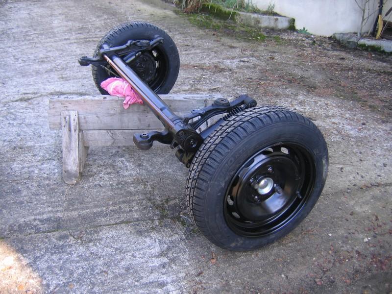 Remorque pour quad Essieu11