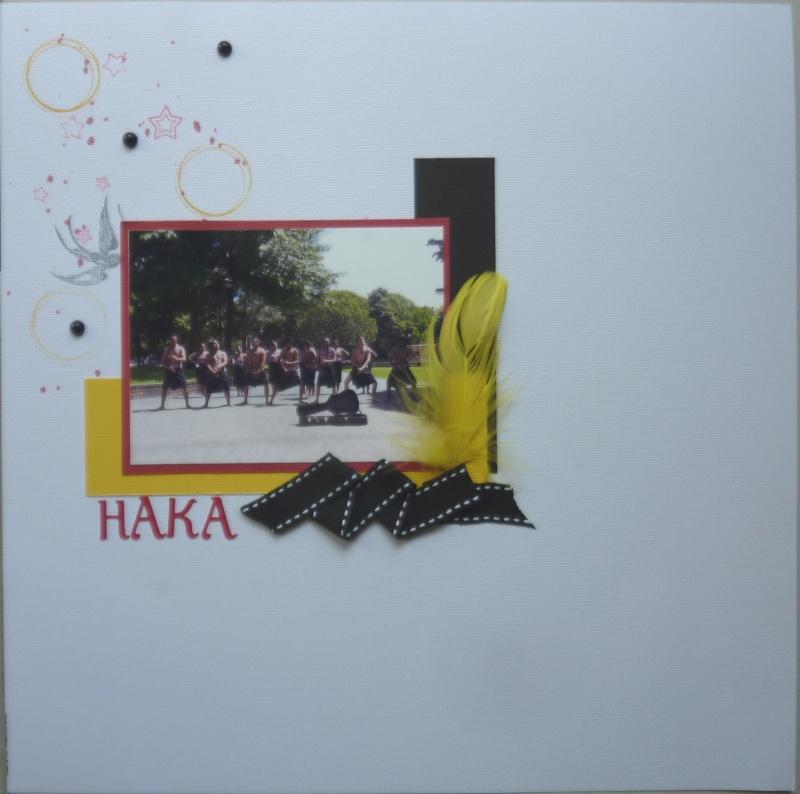 Galerie Papouasie - Equipe sacs jaunes Haka_p10