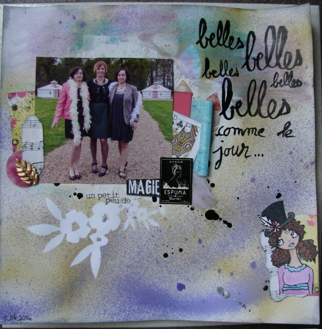 Inspiration page d'avril 2014 : bravo Tootsie ! - Page 2 Belles10