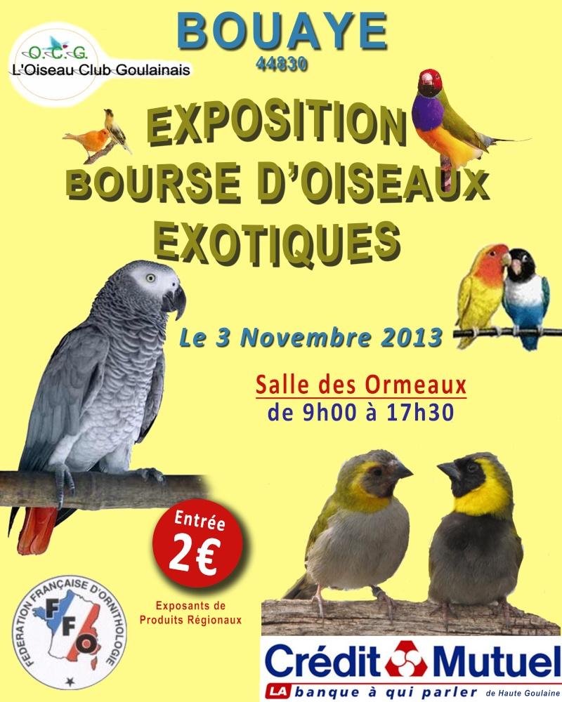 Expo/Bourses en Loire-Atlantique (44). Affich10