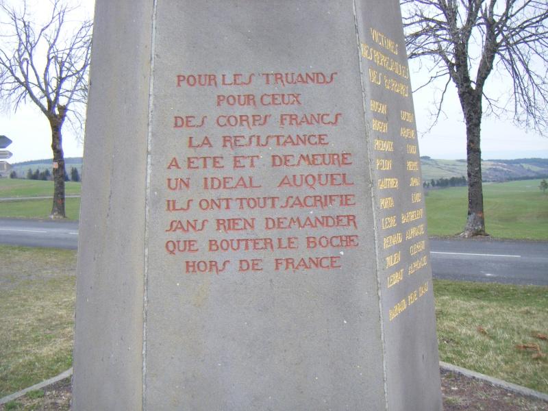 Le MONT-MOUCHET, haut lieu de la Résistance - Page 2 Dscf9911