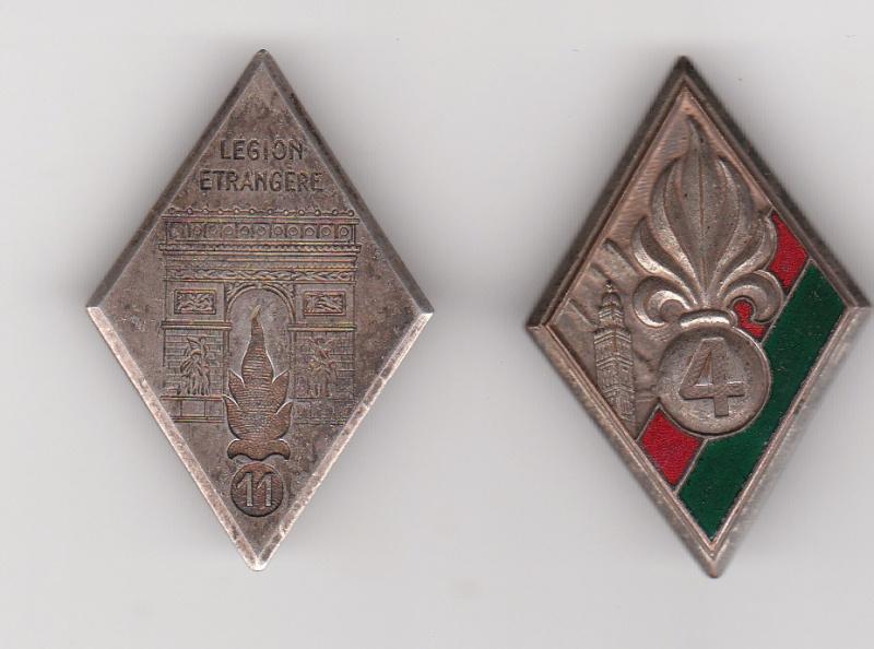 Les insignes de la Legion Etrangère Insign11