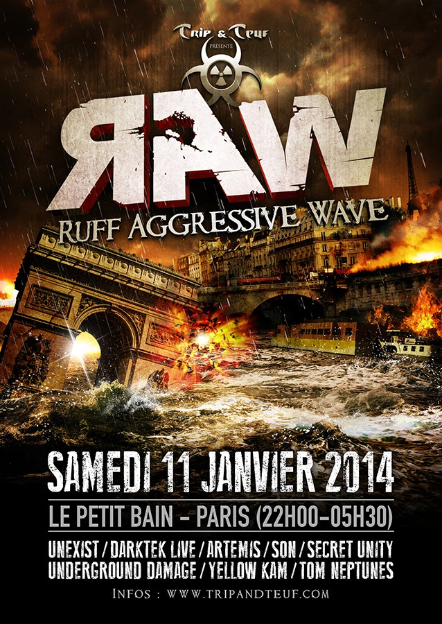 [ Ruff Agressive Wave (R.A.W) - Samedi 11 Janvier 2014 - Le Petit Bain - Paris ] Raw-pa14