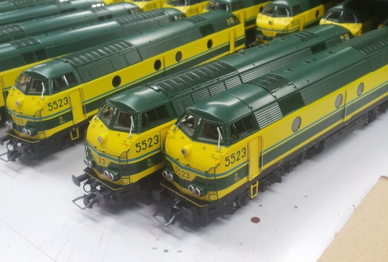 Action 5523 SNCB du TrainMiniatureMagazine - Modelspoormagazine 20131210