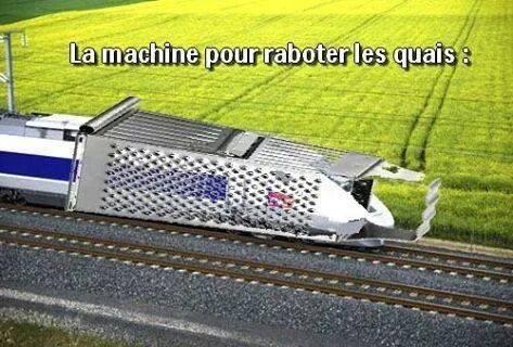 Les nouveaux trains de la SNCF trop larges pour les quais 96135510