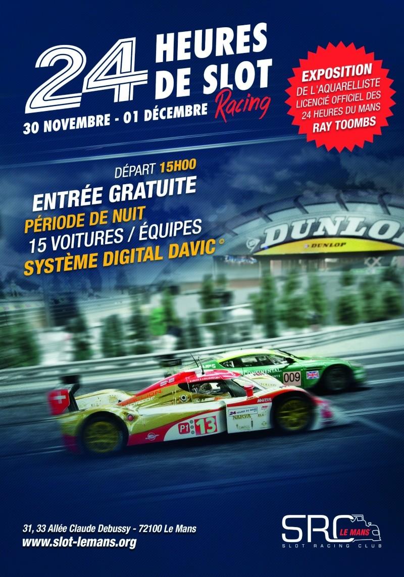 24H de slot du Mans 2013 Affich10