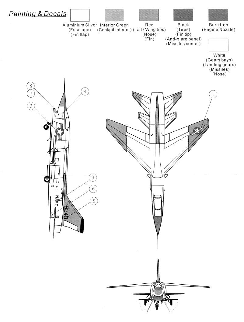 Vought XF8U-3 CRUSADER III V-401 [1/72 - Anigrand] Notice12