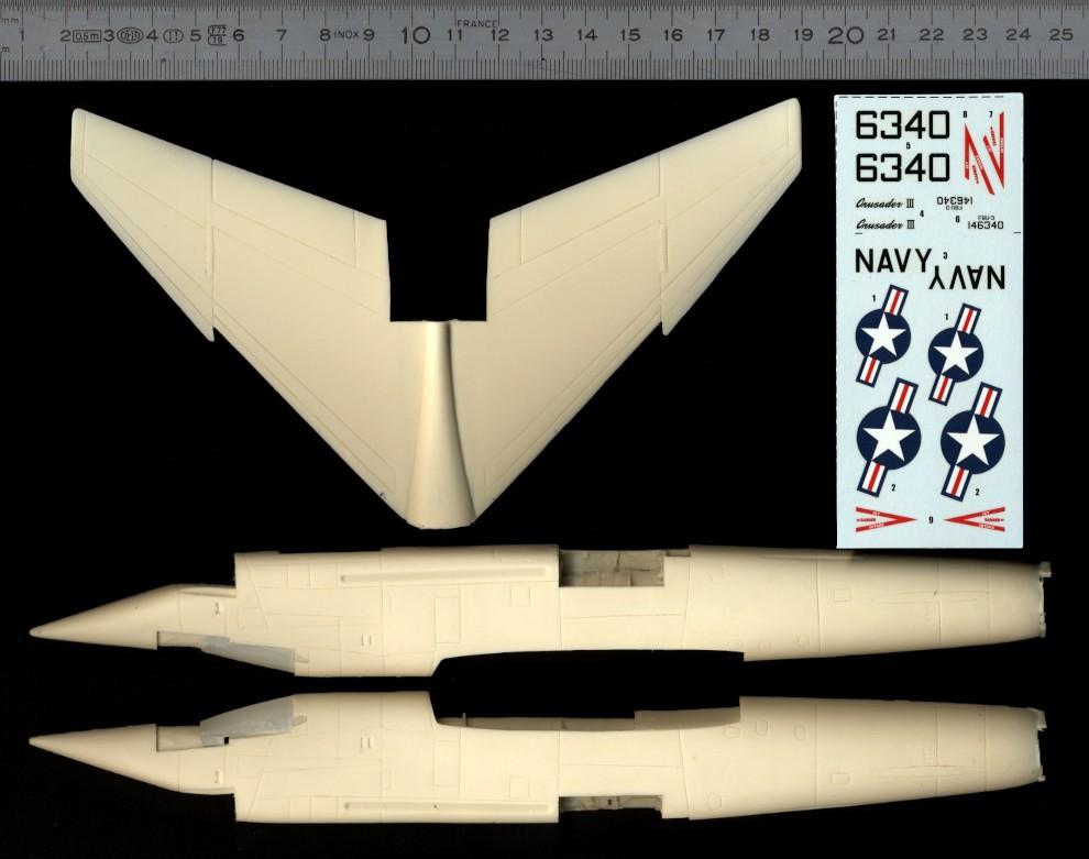 Vought XF8U-3 CRUSADER III V-401 [1/72 - Anigrand] Revue_10