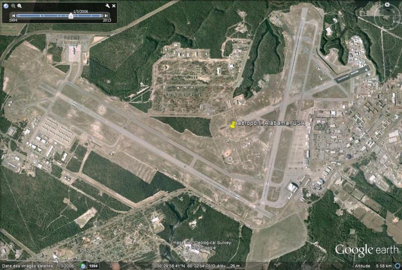 aéroport, Alabama, USA Sans_253