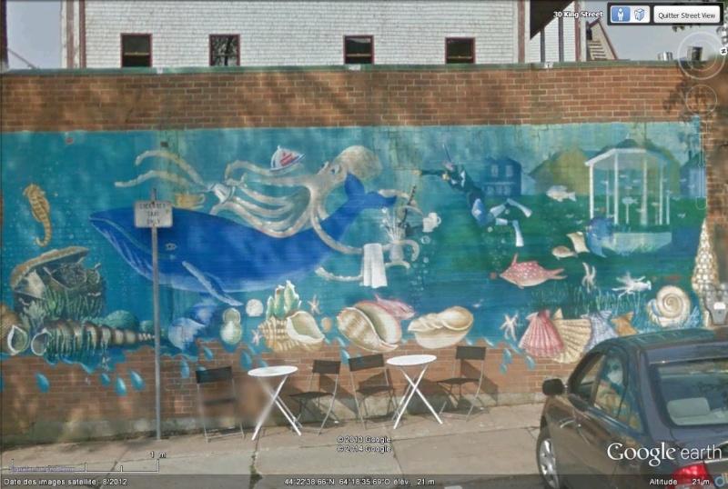 STREET VIEW : les fresques murales - MONDE (hors France) - Page 14 Sans_420