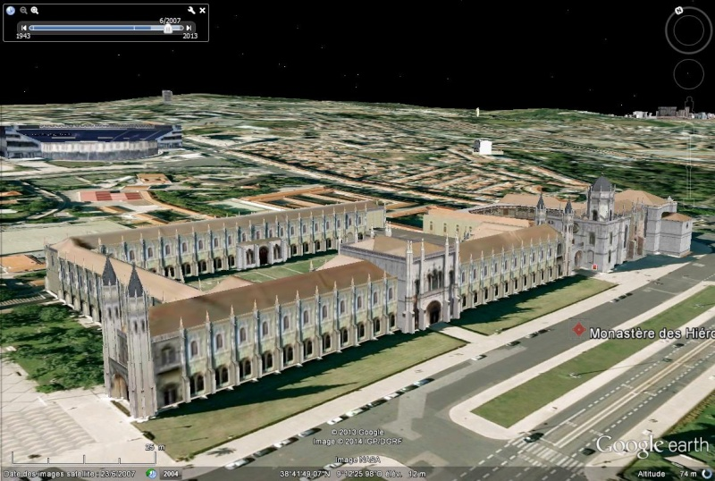 Monastère des Hiéronymites (Mosteiro dos Jeronimos) - Lisbonne - Portugal Sans_455