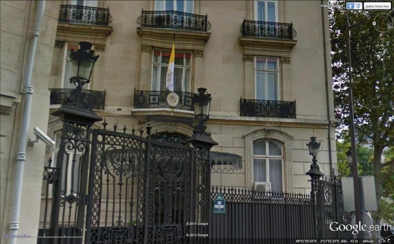 Les ambassades étrangères en France vues depuis Google Earth Sans_487